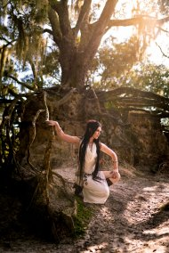 Modeling for Nightbreed Creations; Photo by Chanel Fernandez Photography